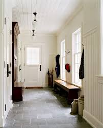 boston floor to ceiling built entry traditional with beadboard