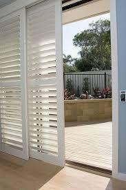 Patio Sliding Glass Door Plantation Shutters For Sliding Glass Doors Interior And Home Ideas
