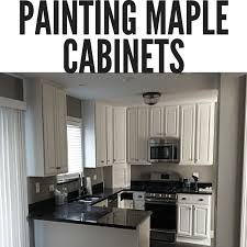 what paint colors look best with maple cabinets tips for painting maple cabinets dengarden