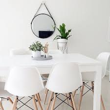 Black And White Dining Room Chairs Best 25 Minimalist Dining Room Furniture Ideas On Pinterest