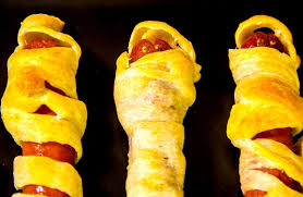 how to make halloween mummy dogs youtube