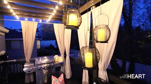 outdoor hanging lights patio with transform your backyard and