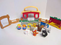 Fisher Price Little People Barn Set Fisher Price Little People Barn Stable Farm Sounds Animal Fence