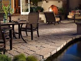 Backyard Flooring Options by Covered Patio Flooring Options Home Design Ideas