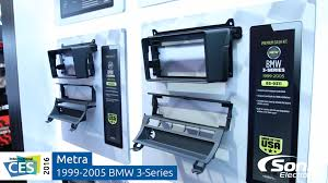 bmw 3 series dashboard metra bmw 3 series 1999 2005 car stereo dash kits ces 2016 youtube