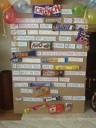 image result for chocolate bar birthday greetings uk decorating
