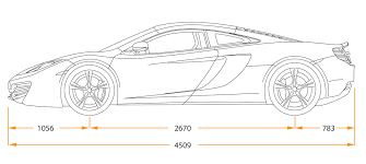 lamborghini sketch side view mclaren mp4 12c 2011 cartype