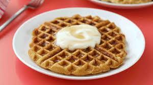 thanksgiving waffle yogurt waffles recipe u0026 video martha stewart