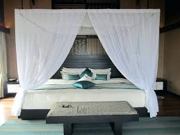 White Bed Canopy Beds Canopy Bed Drapes Fabric Beds Curtains Pottery Barn Diy