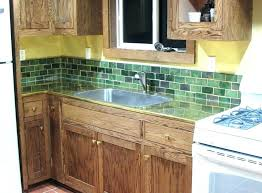 green subway tile kitchen backsplash green subway tile backsplash tiles kitchen with brick new