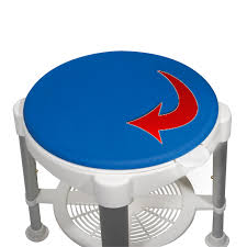 shower stool with padded rotating seat lambert u0027s health care