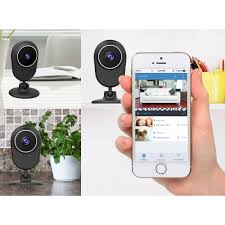 Live Bedroom Cam Momentum 720p Wifi Video Audio Monitoring Camera Walmart Com