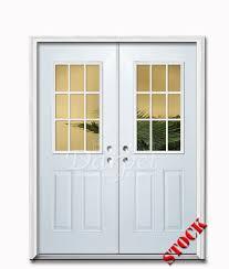 9 Lite Exterior Door 9 Lite Half Clear Glass Steel Exterior Door 6 8 Darpet