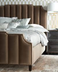 Tufted King Bed Frame Bernhardt Channel Tufted California King Bed Neiman