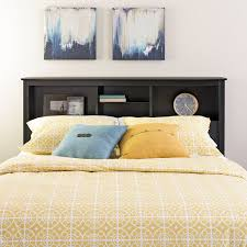 Queen Headboard Diy by Amazon Com Black Full Queen Bookcase Headboard Headboards