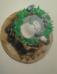 fondant covered totoro birthday cake in dunedin florida near tampa