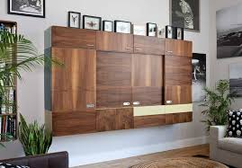 Wall Bookcase With Doors Decorate Your Room With A Wall Mounted Bookcase