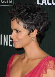 beautiful women hairstyle with sideburns random obsession of the day halle berry s curly sideburn like