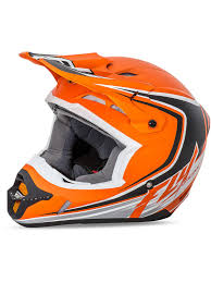 childs motocross helmet fly racing matte orange black white 2016 kinetic fullspeed kids mx