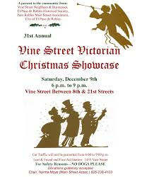 vine street victorian christmas showcase in paso robles