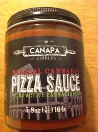 edible thc products canapa edibles thc pizza sauce product review