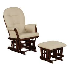 Furniture Wood Rocking Chair Wonderful Ottoman Mesmerizing Wonderful Hoop Back Glider Rocker And