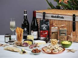 What To Put In A Wine Basket 11 Best Christmas Food And Drink Hampers The Independent