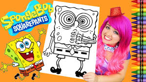 coloring spongebob squarepants giant coloring book crayola