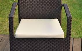 cuscini per poltrone da giardino cuscino per sedie da esterno quadrati sfoderabili