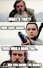 Bring It On Movie Meme - luke and rey imgflip