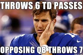 Manning Meme - bad luck eli manning meme guy