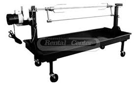 rent charcoal rotisserie pig roaster grills from ct rental center