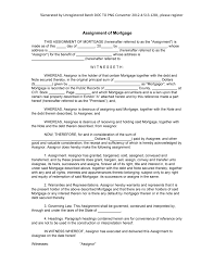 Mortgage Resume Samples by Sample Assignment Of Mortgage Form Blank Word Masir