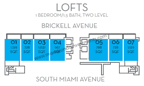 Skyline Brickell Floor Plans The Bond On Brickell Condos