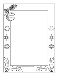 picture frames coloring pages for christmas christmas coloring pages