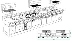 plan cuisine professionnelle installation