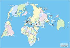 World Blank Map by World Polar Projection Free Map Free Blank Map Free Outline Map