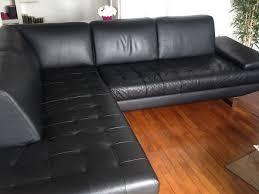 canap d angle cuir noir canapé d angle cuir noir 5 6 places occasion en offres mai