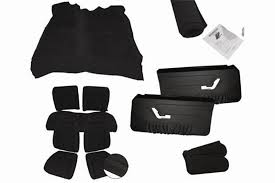 87 mustang parts mustang black interior conversion kit lmr com