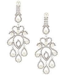 Black Bead Earrings Bronze Chandelier Women U0027s Chandelier Earrings Dillards