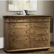 Bedroom Furniture Inverness Acme Furniture Inverness Reclaimed Oak 12 Drawer Dresser Master