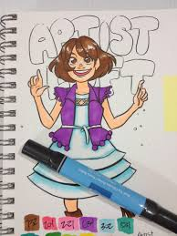 nattosoup studio art and process blog alcohol based marker review