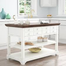 kitchen island heights rosecliff heights galliano kitchen island reviews wayfair