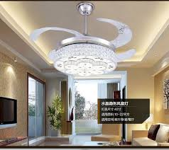 dining room ceiling fan led ceiling fan crystal l european bedroom modern electric fan