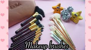 how to choose makeup brushes for beginners cheap affordable