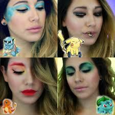pokemon go inspired makeup bondbeautyful