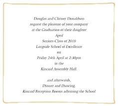 graduation lunch invitation wording graduation ceremony invite wording for sle graduation