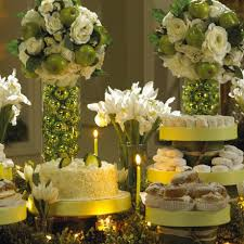 ready set decorate beautiful christmas buffet and catering