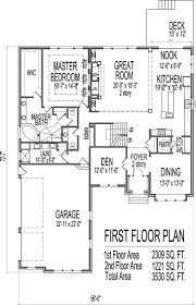 new 5 bedroom house plans with basement new home plans design