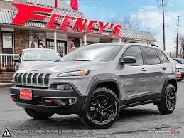 2016 jeep cherokee sport black rims 2016 jeep cherokee trailhawk every possible option feeney car sales